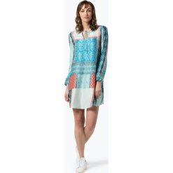 Odzież: BOSS Casual – Sukienka damska z domieszką jedwabiu – Effei_1, biały