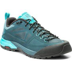 Trekkingi SALOMON - X Alp Spry W 398602 20 V0 Mallard Blue/Reflecting Pond/Blue Bird. Czarne buty trekkingowe damskie marki Salomon, z gore-texu, na sznurówki, outdoorowe, gore-tex. W wyprzedaży za 359,00 zł.