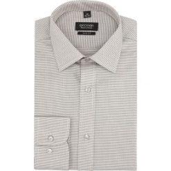Koszula versone 2750 długi rękaw slim fit szary. Szare koszule męskie slim marki Recman, na lato, l, w kratkę, button down, z krótkim rękawem. Za 139,00 zł.