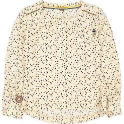"""Bluzka """"Party Monster"""" w kolorze kremowo-czarnym. Białe bluzki dziewczęce marki 4FunkyFlavours Kids, w kropki, z okrągłym kołnierzem. W wyprzedaży za 92,95 zł."""