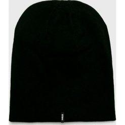 Barts - Czapka. Czarne czapki zimowe męskie marki Barts, z dzianiny. W wyprzedaży za 69,90 zł.