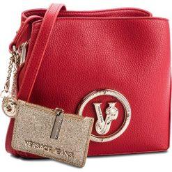 Torebka VERSACE JEANS - E1VSBBV6  70790 500. Czerwone listonoszki damskie Versace Jeans, z jeansu. Za 619,00 zł.