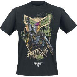 Call Of Duty Black Ops 4 - Battery T-Shirt czarny. Czarne t-shirty męskie z nadrukiem Call Of Duty, s, z okrągłym kołnierzem. Za 74,90 zł.