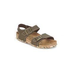 Sandały Dziecko  Birki's  NEW YORK. Brązowe sandały dziewczęce marki Birki's. Za 202,30 zł.