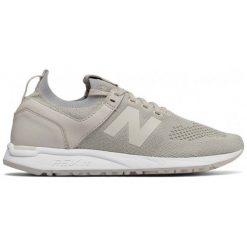 New Balance Damskie Obuwie wrl247sv, 36,5. Białe buty do biegania damskie marki New Balance, z materiału. W wyprzedaży za 325,00 zł.