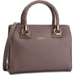 Torebka LIU JO - M Satchel Manhattan N68100 E0087 Ginger 81306. Brązowe torebki klasyczne damskie Liu Jo, ze skóry ekologicznej, duże. Za 689,00 zł.