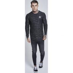 Koszulki polo: SIKSILK SIKSILK INJECT WAFFLE CURVED HEM Tshirt basic black