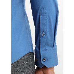 Koszule męskie na spinki: Burton Menswear London CORNFLOWER MUSCLE FIT Koszula biznesowa blue