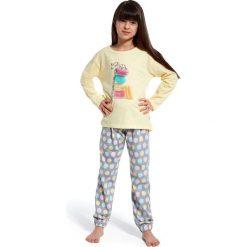 Bielizna chłopięca: piżama  time to rest 3 żółty  r. 98/104 (594/87)