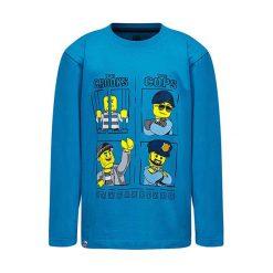 """T-shirty chłopięce z długim rękawem: Koszulka """"M-72213"""" w kolorze niebieskim"""