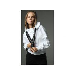 Bluza Go Sky High - biała. Białe bluzy z kieszeniami damskie Madnezz, m, z aplikacjami, z bawełny. Za 299,00 zł.
