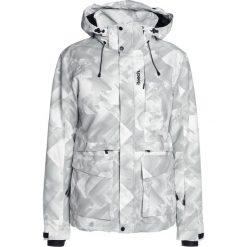 Bench MILITARY  Kurtka snowboardowa tofu. Białe kurtki narciarskie męskie Bench, l, z materiału. W wyprzedaży za 775,20 zł.