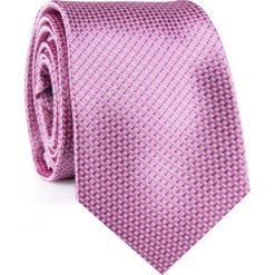 KRAWAT KWRR001923. Czerwone krawaty męskie Giacomo Conti, z mikrofibry. Za 69,00 zł.