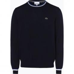 Lacoste - Sweter męski, niebieski. Niebieskie swetry klasyczne męskie Lacoste, l, z bawełny. Za 599,95 zł.