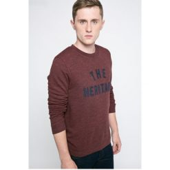 Selected - Bluza. Szare bluzy męskie rozpinane marki Selected, l, z nadrukiem, z bawełny, bez kaptura. W wyprzedaży za 99,90 zł.