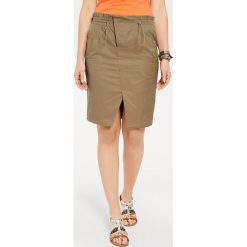 Odzież damska: Spódnica w kolorze khaki