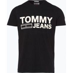 T-shirty męskie z nadrukiem: Tommy Jeans - T-shirt męski, czarny