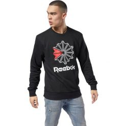 Bluza Reebok AC FT Big Starcrest (DM5161). Pomarańczowe bluzy męskie marki Reebok, z dzianiny, sportowe. Za 183,99 zł.