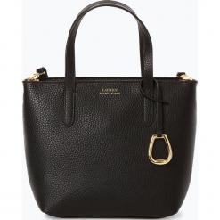 LAUREN RALPH LAUREN - Torebka damska, czarny. Czarne torebki klasyczne damskie Lauren Ralph Lauren, ze skóry, małe. Za 649,95 zł.