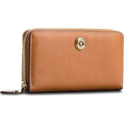 Duży Portfel Damski LAUREN RALPH LAUREN - Millbrook 432688506002  Tan/Orange. Brązowe portfele damskie Lauren Ralph Lauren, ze skóry. W wyprzedaży za 399,00 zł.