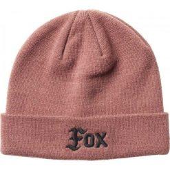 Czapki zimowe damskie: FOX Czapka Damska Flat Track Uni Różowy
