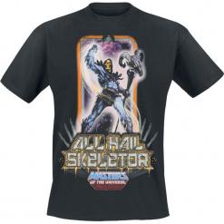 Masters Of The Universe He-Man - Skeletor T-Shirt czarny. Czarne t-shirty męskie z nadrukiem Masters Of The Universe, l, z okrągłym kołnierzem. Za 74,90 zł.
