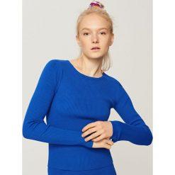 Dopasowany sweter - Niebieski. Niebieskie swetry klasyczne damskie marki Armor lux, m. Za 49,99 zł.