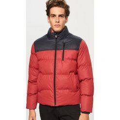 Pikowana kurtka ze stójką - Czerwony. Czerwone kurtki męskie bomber Reserved, l. Za 169,99 zł.
