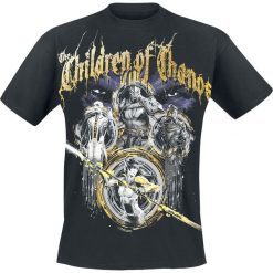 T-shirty męskie z nadrukiem: Avengers Infinity War – Children Of Thanos T-Shirt czarny