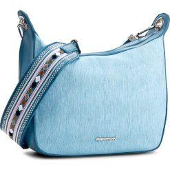 Torebka MONNARI - BAG1080-012  Blue. Niebieskie listonoszki damskie marki Monnari. W wyprzedaży za 129,00 zł.