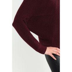 Swetry klasyczne damskie: Tigha NIKOLA Sweter red plum
