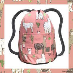LLAMAS & PINK dwustronny plecak SACK IT!. Różowe plecaki męskie Pakamera. Za 165,00 zł.