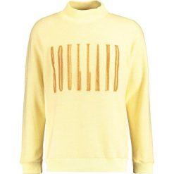 Soulland ALBERT  Bluza light yellow. Żółte kardigany męskie marki Soulland, m, z bawełny. W wyprzedaży za 491,40 zł.