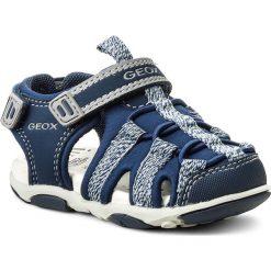 Sandały GEOX - B Sand. Agasim B. C B821AC 05015 C0661 M Navy/Grey. Niebieskie sandały chłopięce marki Geox, z materiału. W wyprzedaży za 179,00 zł.
