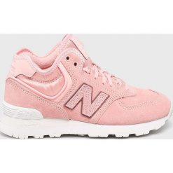 New Balance - Buty WH574BA. Szare buty sportowe damskie New Balance, z gumy. Za 449,90 zł.