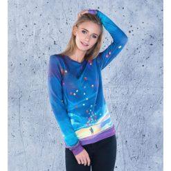 Bluzy rozpinane damskie: Bluza bawełniana damska Colorful Balloons