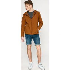 Jack Wolfskin - Kurtka Amber Road. Żółte kurtki męskie przejściowe marki Jack Wolfskin, l, z bawełny, z kapturem. W wyprzedaży za 269,90 zł.