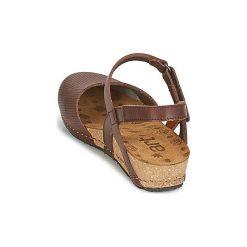 Sandały Art  POMPEI. Brązowe sandały trekkingowe damskie Art, z kauczuku. Za 335,20 zł.