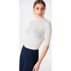 Golfy damskie: Filippa K Sweter Tencel Wool – Offwhite