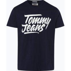 Tommy Jeans - T-shirt męski, czarny. Czarne t-shirty męskie z nadrukiem marki Tommy Jeans, m, z bawełny. Za 99,95 zł.