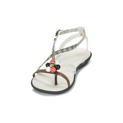 Sandały Crocs  DREW X CROCS ISABELLA G SANDAL W. Czarne rzymianki damskie Crocs. Za 188,30 zł.