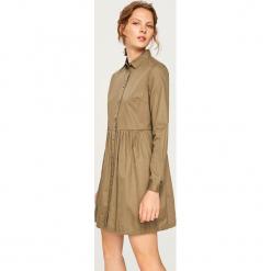Jeansowa sukienka - Zielony. Zielone sukienki marki Reserved, z jeansu. Za 99,99 zł.