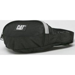 Caterpillar - Nerka Mastodon. Czarne walizki marki Caterpillar, w paski, z materiału, małe. W wyprzedaży za 69,90 zł.