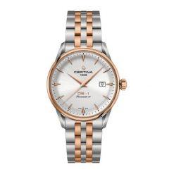 RABAT ZEGAREK CERTINA DS 1 Powermatic 80 C029.807.22.031.00. Szare zegarki męskie CERTINA, ze stali. W wyprzedaży za 2851,20 zł.