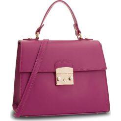 Torebka CREOLE - K10564 Fuksja. Czerwone torebki klasyczne damskie Creole, ze skóry, zdobione. W wyprzedaży za 219,00 zł.