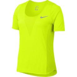 Bluzki z falbaną: koszulka do biegania damska NIKE ZONAL COOLING RELAY TOP SHORT SLEEVE / 831512-702 - NIKE ZONAL COOLING RELAY TOP SHORT SLEEVE