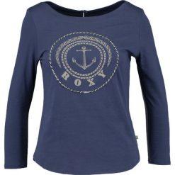 Bluzki asymetryczne: Roxy SOUL CLUB TEES Bluzka z długim rękawem deep cobalt