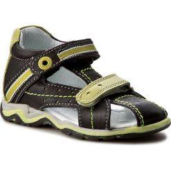 Sandały LASOCKI KIDS - CI12-2566-01 Czarny. Czarne sandały męskie skórzane marki Lasocki Kids. W wyprzedaży za 69,99 zł.