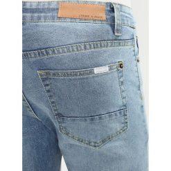 Liquor N Poker WITH OPEN RIPS AND ZIP ANKLE Jeans Skinny Fit vintage stonewash. Szare rurki męskie Liquor N Poker. W wyprzedaży za 152,10 zł.