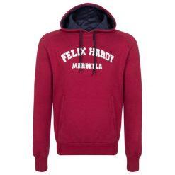 Felix Hardy Bluza Męska L Burgund. Czerwone bluzy męskie rozpinane marki KALENJI, m, z elastanu, z długim rękawem, długie. W wyprzedaży za 239,00 zł.